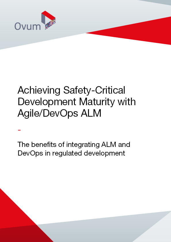 Achieving Safety-Critical Development Maturity with Agile/DevOps ALM