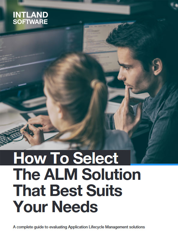 How to Select the ALM Solution that Best Suits Your Needs cover