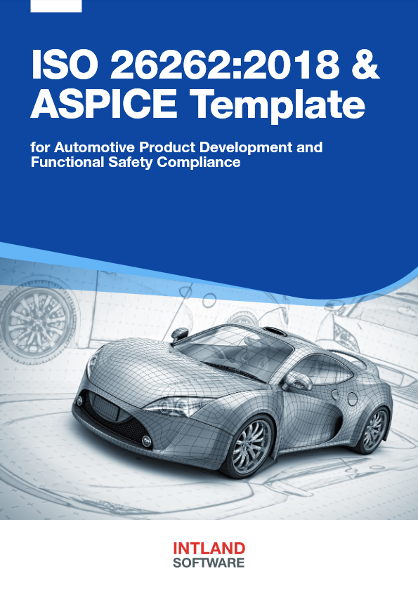 ISO 26262:2018 & ASPICE Template cover