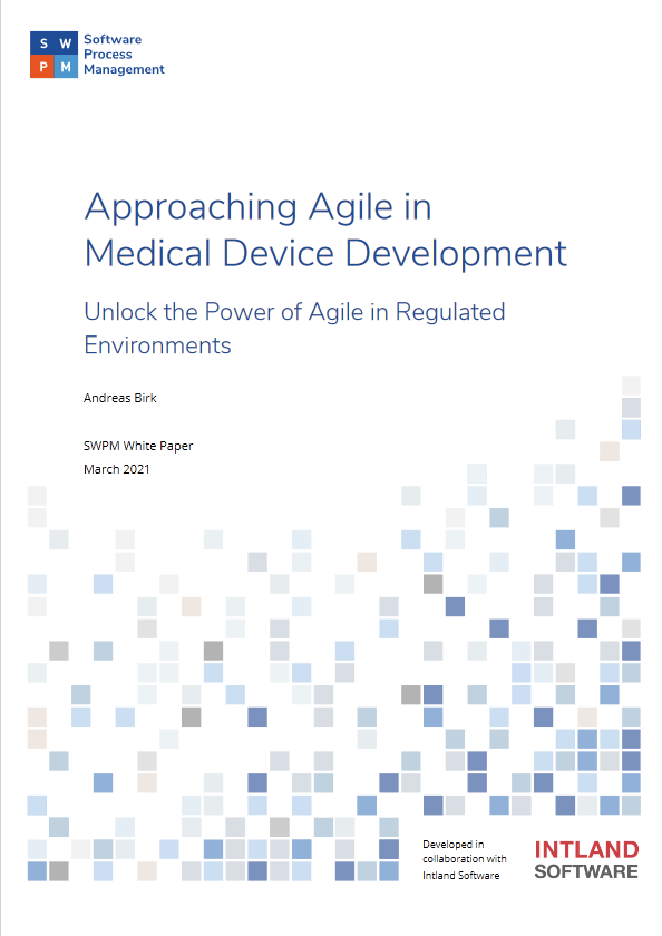Approaching Agile in Medical Device Development cover