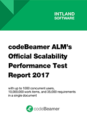 codeBeamer ALM's Official Scalability Performance Test Report 2017