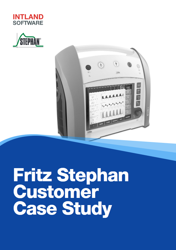 Fritz Stephan Medical Customer Case Study cover