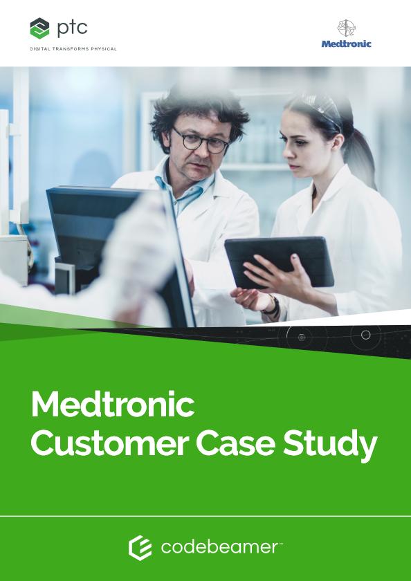 Medtronic Customer Case Study cover